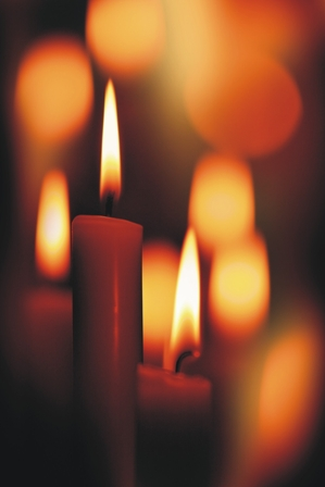 gallery for shabbat candles